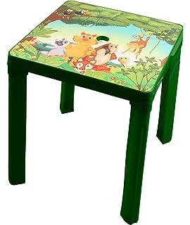 Kinder Gartentisch Best Aladino 45 x 60 H 48 cm weiß