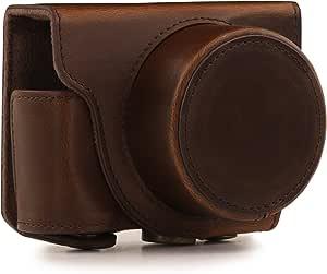 Megagear Leder Kameratasche Für Nikon 1 J5 Mit 10 30mm Kamera