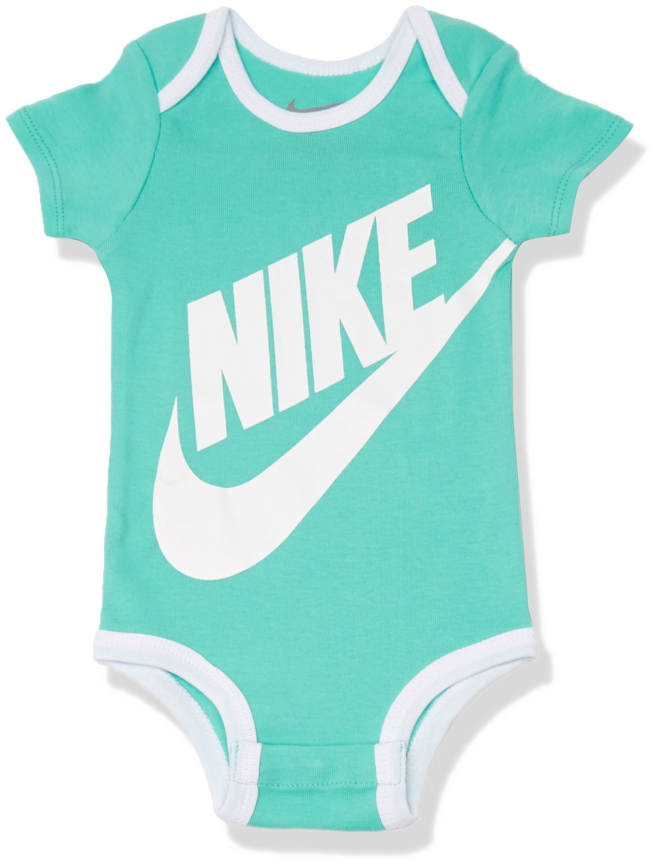 NIKE – Body – para bebé niña Turquesa Turchese (Hyper Turquoise) One Size (Taglia Produttore:Taglia Unica)