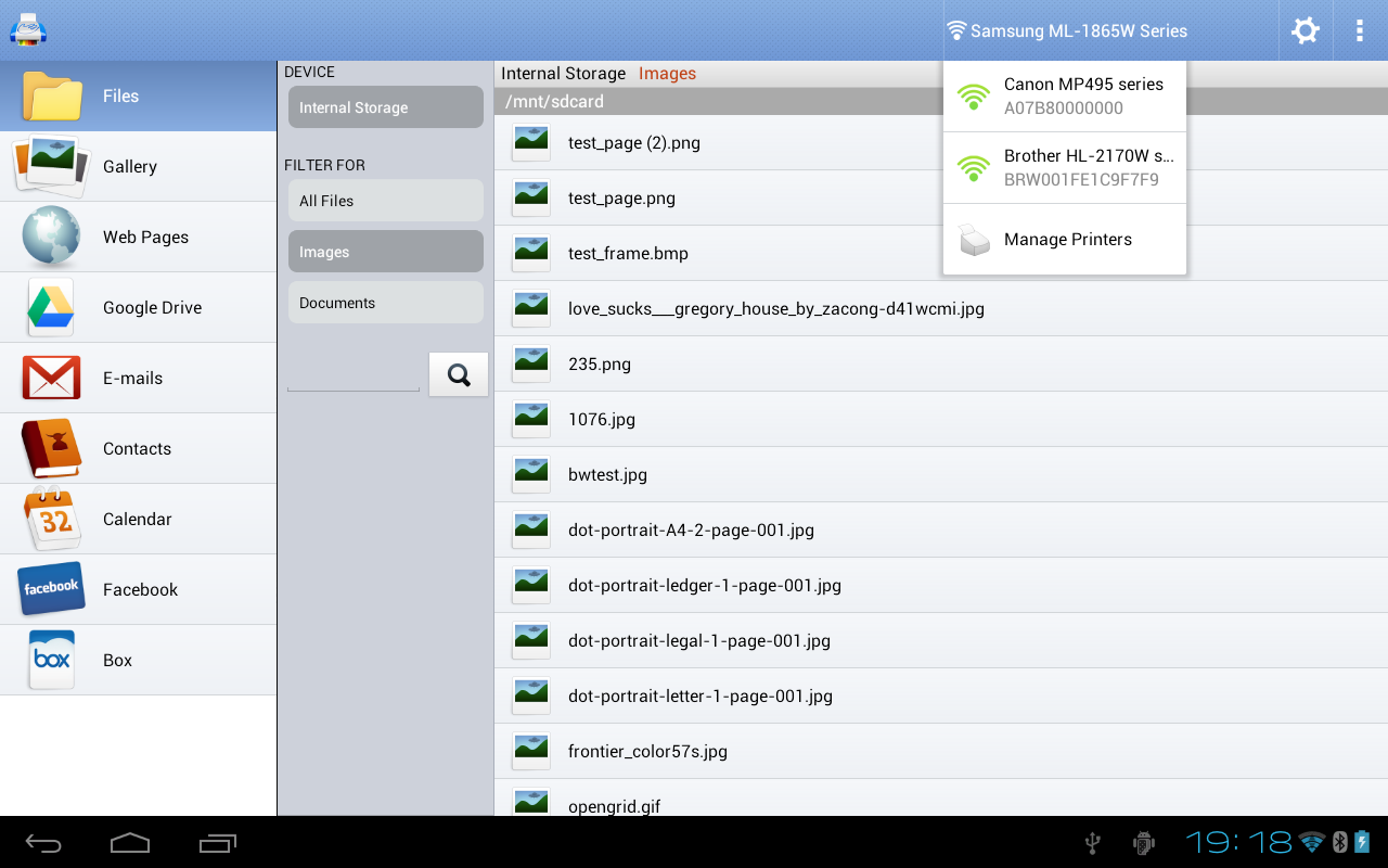 PrintHand Mobile Print Premium Screenshot
