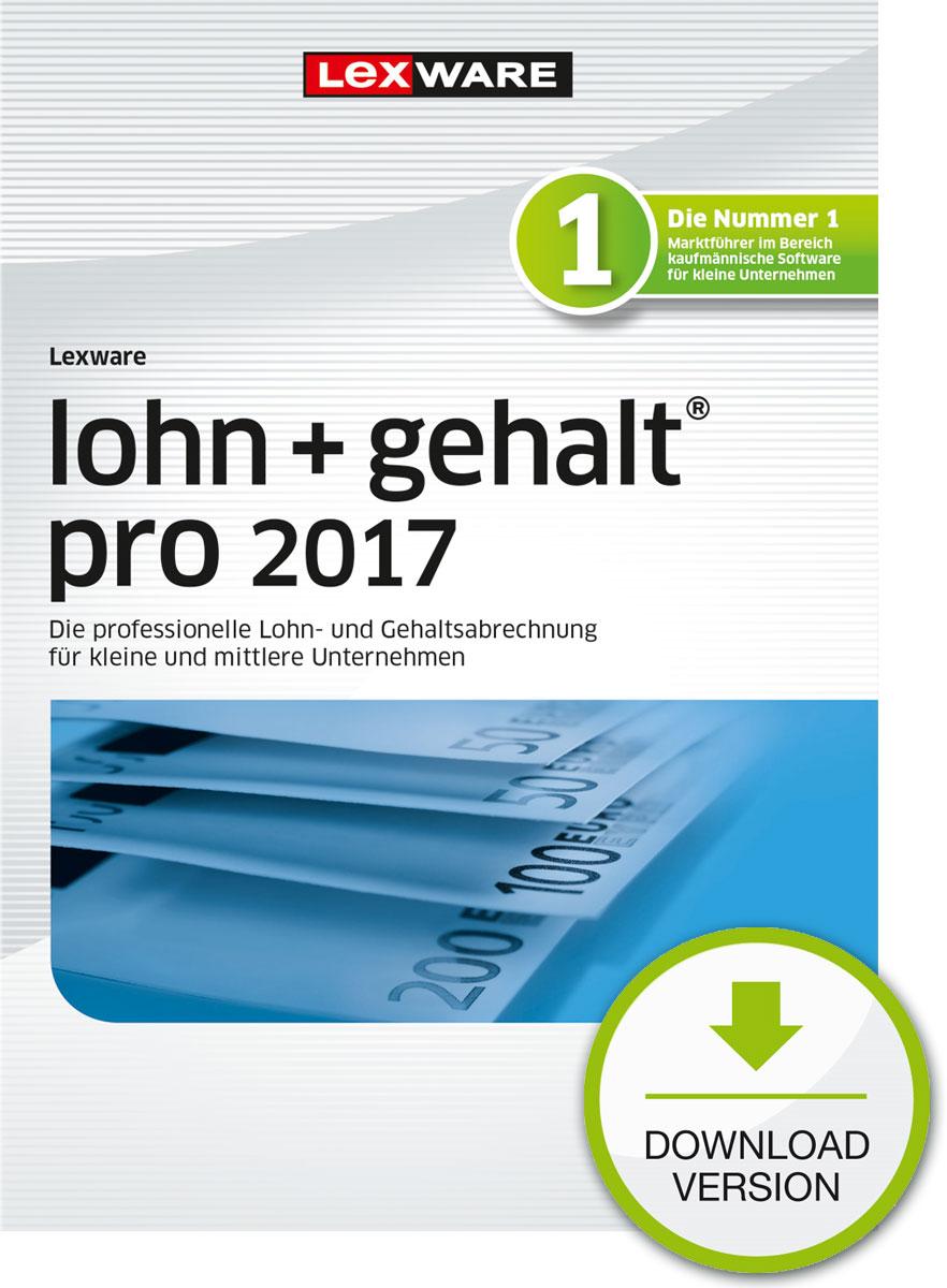 Lexware lohn+gehalt pro 2017 Download Jahresversion (365-Tage) [Download]