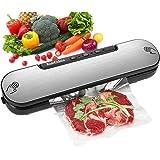 KotiCidsin Machine Sous Vide, Appareil de Mise Sous Vide Alimentaire Automatique avec 10 Sacs Sans BPA pour Aliments, Viandes