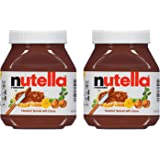 Nutella Chocolate Hazelnut Spread with Cocoa - 2 Pack, 2 x 750 g