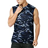MEETYOO Men's Tank Top, Sleeveless Tops Quick Dry Tank T Shirt Vest Top for Running Gym Sport Fitness