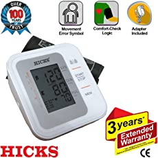 Hicks N-820 Automatic Blood Pressure Monitor (White)