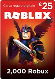 Carta Regalo Roblox - 2,000 Robux