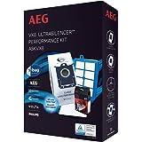 AEG ASKVX8 Ultrasilencer startpakket, 1x s-bag classic long performance, 1x Allergy Plus s-filter, 1x s-fresh Evening Rose ge