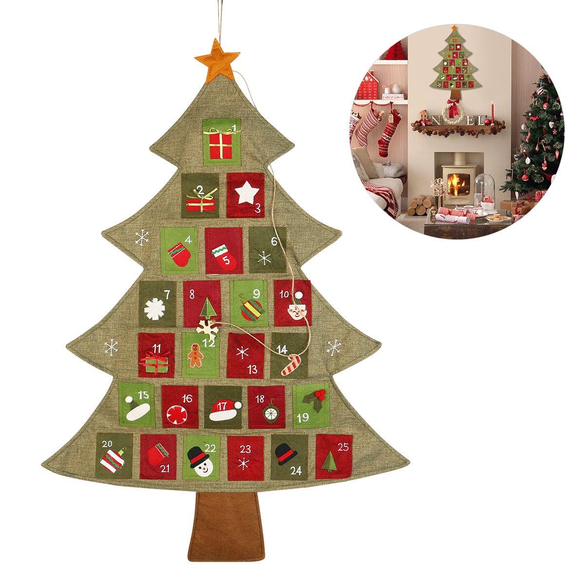 Calendario Conto Alla Rovescia.Nicexmas Natalizio Avvento Calendario Conto Alla Rovescia Per Natale Face Shop