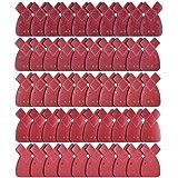 AUSTOR 50 Pièces Mouse Sanding Sheet Feuille de Ponçage 10 X Grains 40/ 60/ 80/ 120/ 240 Fit Black and Decker Detail Palm Sander