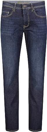 MAC Men's Jeans Pants Ben Item 0970L038000 H741 - blue (dark vintage wash H741), Men, 38W / 32L