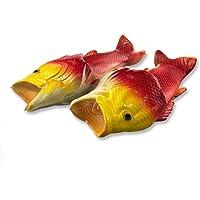 Uniqstore Sandales unisexes en forme de poisson - Pour la plage ou la douche - Idée cadeau originale pour homme et femme