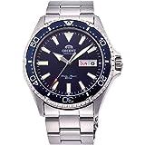 Orient RA-AA0002L uomo Kamasu in acciaio inox blu lunetta quadrante blu automatico Immersione orologio