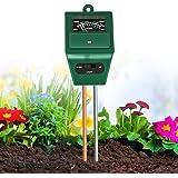 XDDIAS Medidor de Suelos, medidor de Humedad de Plantas 3/1 / medidor de acidez de luz/pH, higrómetro de Monitor de Agua de S
