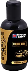 Nippon Paint Sparkle Auto Specialty Premium Liquid Wax (100 ml, Black)