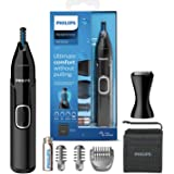 Philips nästrimmer 5000-serien - Trimma näsa, öron- och ögonbrynhår - Fullt tvättbar - Hudskydd - Rostfria blad - Lämplig und