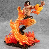 GUANGHHAO One Piece Portgas·D· Ace Figurine 25cm-20e Anniversaire Fire Fist Ace-Figurine Décoration Ornements…