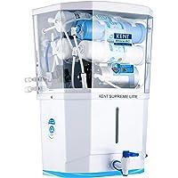 KENT Supreme Lite 2020 (11110), Wall Mountable, RO + UF + TDS Control, 8 L Tank, White, 20 LPH Water Purifier
