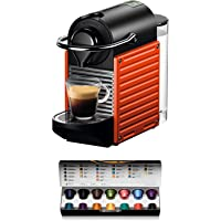 Krups Nespresso Pixie Machine à café automatique Machine à capsules rouge