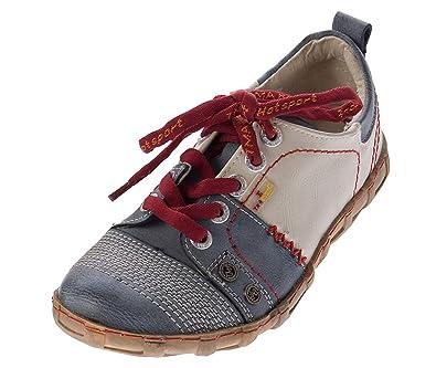 Used Blau Grün Tma 4166 ChaussuresSneakers de Eyes Leder Comfort Chaussures Tennis Weiß Schwarz Femme Halb Look Gelb JlFcTK1