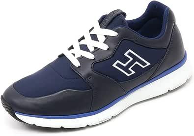 Hogan B7132 Sneaker Uomo Traditional 20.15 Scarpa H Flock Blu Shoe Man