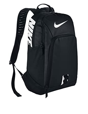 black backpack nike
