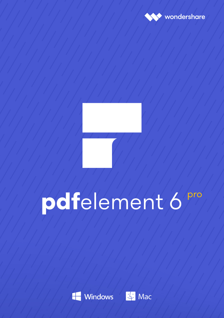 Wondershare PDF Element 6 Professional mit OCR für PC - 2018 [Download]
