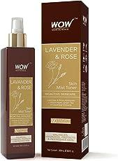 WOW Lavender and Rose Skin Mist Toner, 200ml
