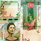 ISD Venezuela 2018 Banknote 2 Bolivares Currency Reform Issue