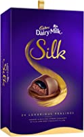 Cadbury Dairy Milk Silk Pralines Chocolate Gift Box, 240g