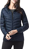 LAPASA Damen Daunenjacke Übergangsjacke Ultraleicht Winddicht Hoher Kragen mit Tasche im Beutel verstaubar L18
