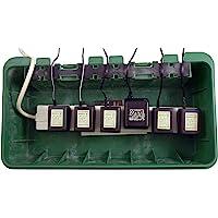 Christmas Concepts® Large Green Weather Proof Box - Outdoor Plug Box - 42cm x 22cm x 10cm