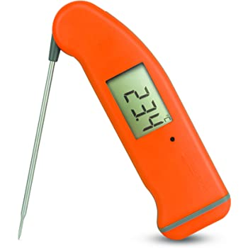 ETI SuperFast Thermapen 4 thermometer - Patented automatic 360° rotational display (Orange)