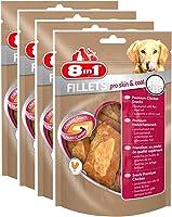 8in1 Fillets Hähnchensnack, funktionale Leckerlies für Hunde, 4er Packs, verschiedene Sorten