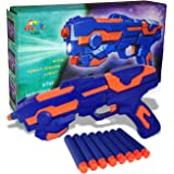 CocoRio Foam Blaster Gun Galaxy Space War with Soft Bullet Cool Gun for Kids with 8 PCS Soft Bullets