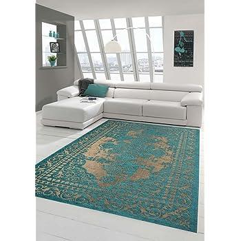 Amazon De Moderner Teppich Designer Teppich Orientteppich