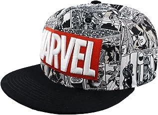 Marvel Classic Logo Snapback-Cap Mehrfarbig