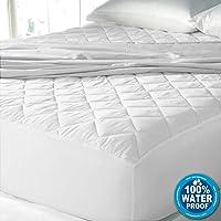 Cloth Fusion Patron 2nd Gen Waterproof Cotton Single Size Mattress Protector -72x36 inch- White