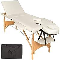 TecTake Table de massage 3 zones pliante cosmetique lit de massage portable + housse de transport - diverses couleurs au…