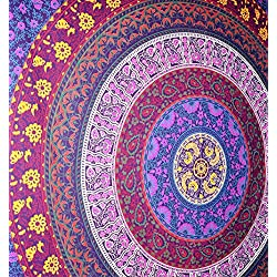 Tapiz de colores. Mandalas multicolor. Gama tapices baratos.
