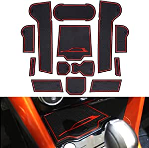 Yee Pin Gummimatten V W T Ro C Zubehör 2017 2020 Interieur Rutschfeste Matten Für Mittelkonsole Getränkehalter Antirutschmatten Autoteile Innenausstattung Auto