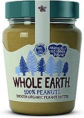 Whole Earth Crema De Cacahuete Bio, 227 g