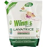 Winni's Naturel Detersivo per Lavatrice Ipoallergenico - 4 confezioni da 1495 ml [5980 ml, 100 lavaggi]