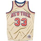 Mitchell & Ness Swingman New York Knicks Patrick Ewing 33 Gold