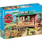 Playmobil Centre de Soins pour Animaux de la Savane