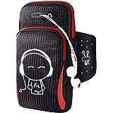 SANNOBEL Running Armband Phone Holder, phone armband,running bag,arm band for phone running, Armband Bag, for iPhone XS MAX X