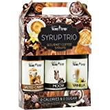 Sockerfri sirap trio 3x375 ml saltad karamell, mocka och vanilj