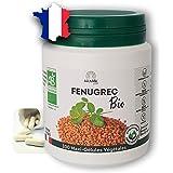 Gélules de fenugrec BIO pures et naturelles 2320mg - Pour augmenter votre poitrine ou grossir des fesses. 100 gélules-Complém