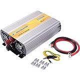 COSTWAY Spannungswandler Wechselrichter Inverter Stromwandler / 1500W 3000W / 12V DC auf 230V AC/mit USB-Anschlus