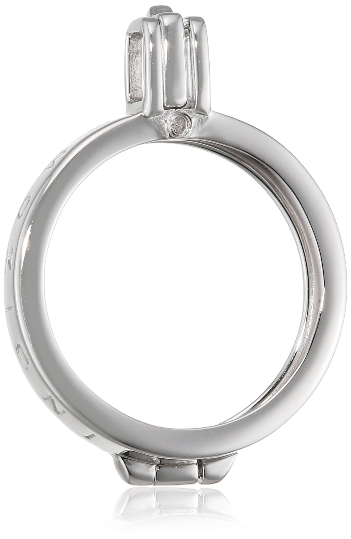 Emozioni Capri Sterling Silver 25mm Coin Keeper Pendant