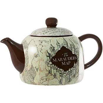 Harry Potter Marauder S Map 40oz Ceramic Teapot Amazon De Spielzeug